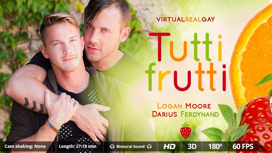 Tutti Frutti - Virtualrealgay having sex with condoms