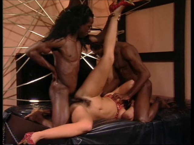 2 darksome boy-friends fuck dark brown hotty (with strings) new sex tube secretary