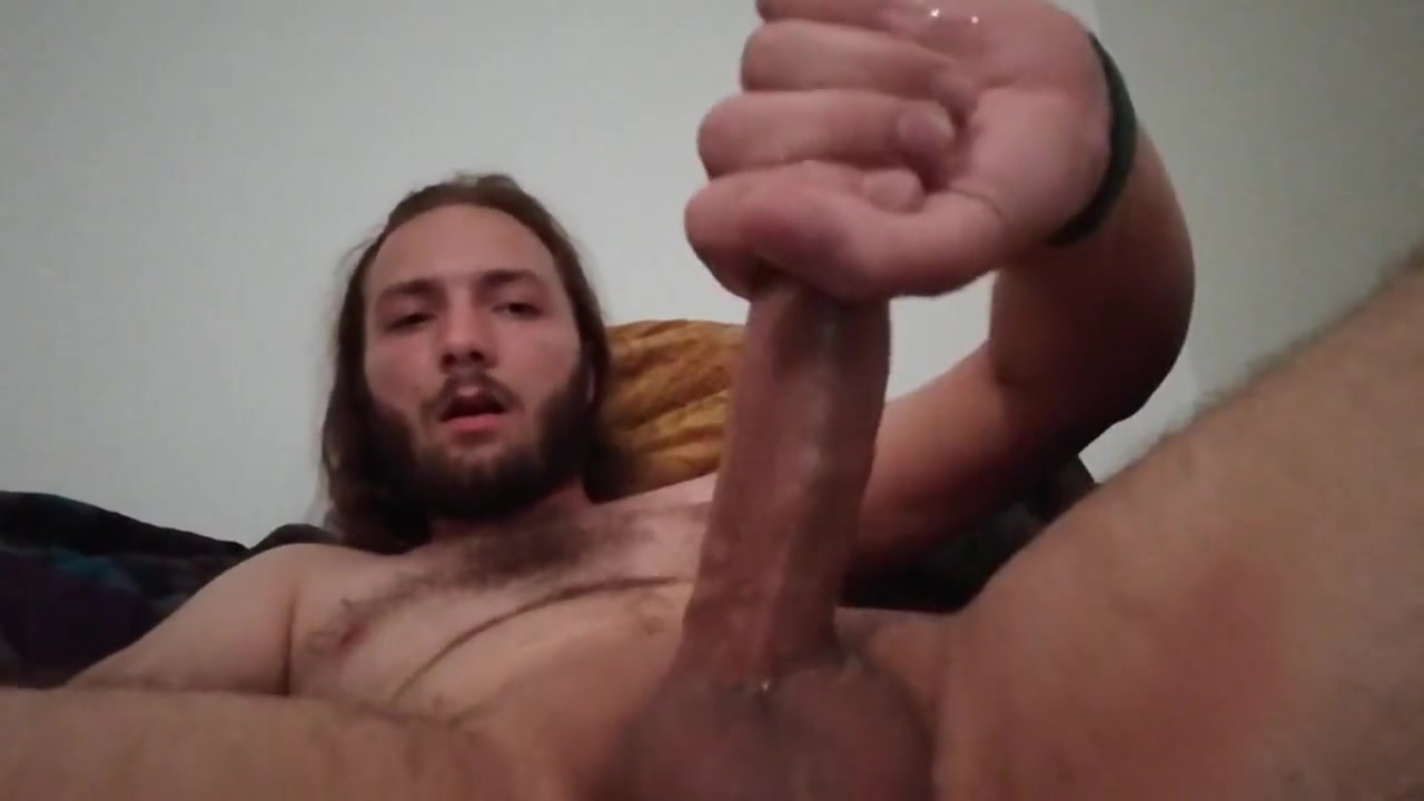 Alone at Home watching Porn Cream her lick pie
