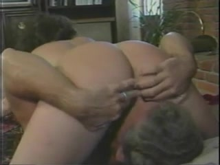 Tanya Foxx - Three Men And A Barbi 2218 Huge cock in her mouth