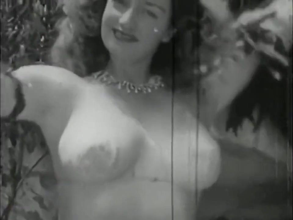 VINTAGE Stripper Betty Howard - 1940s The best of black anal