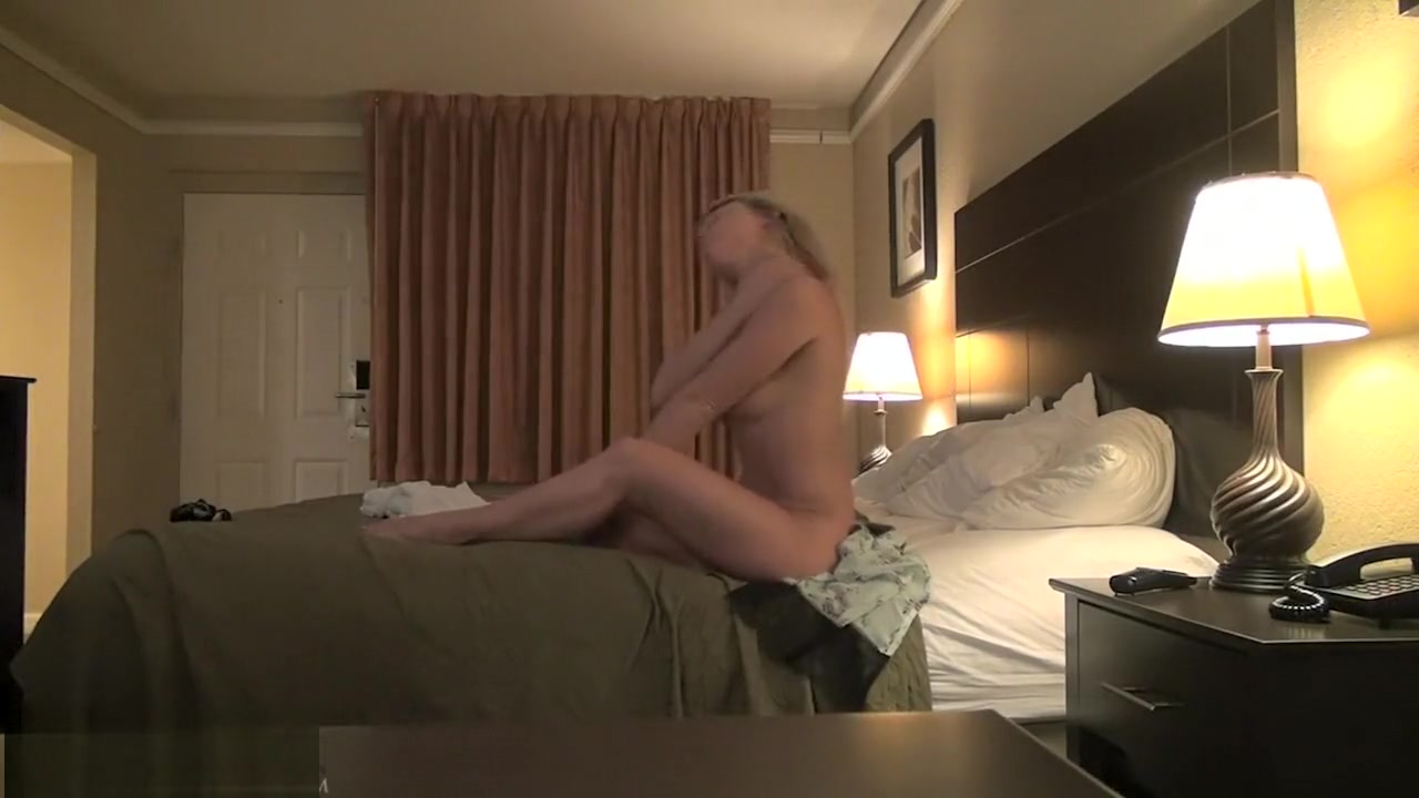 Madden alone with her cream in a hotel room