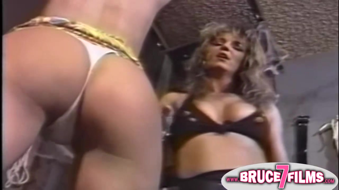 Nipple clamped 90s lesbo Goth girls having sex