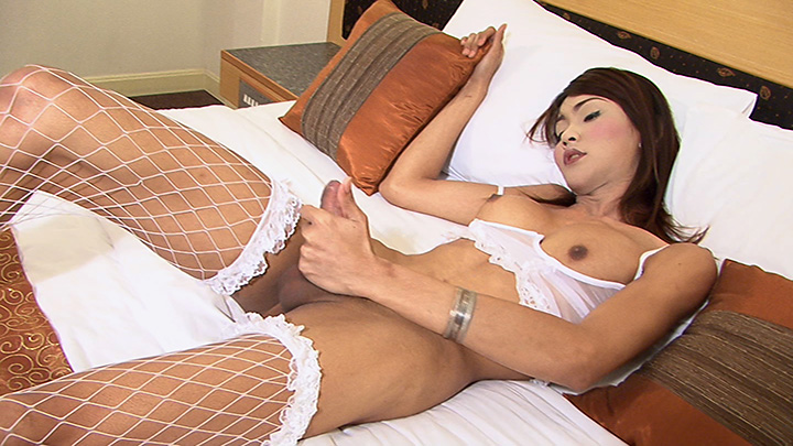 LadyboyGold Video: Lean Ladyboy Lovin Messy fun from lesbian sex games