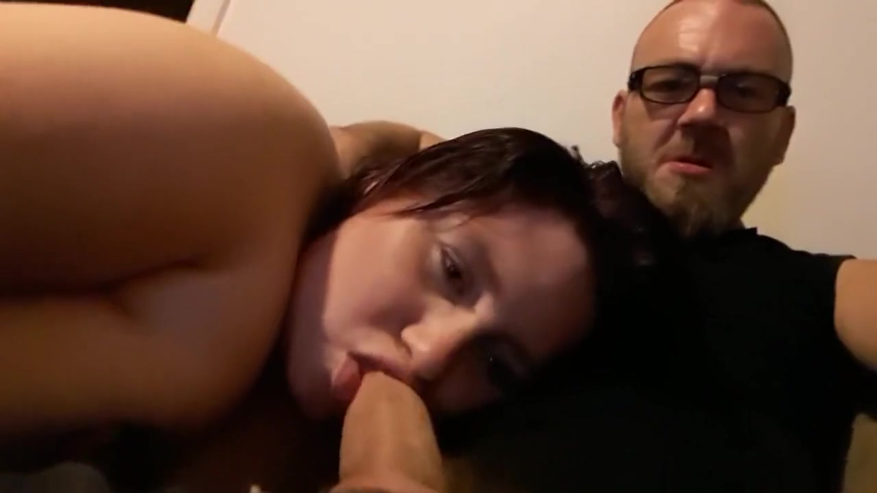 What daddy wants daddy gets and I get my mouth fucked