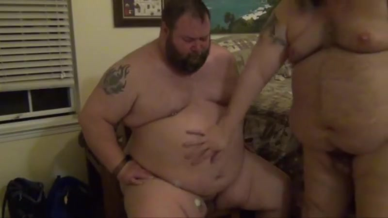 Funnel feeding a big fat bear. Ass then right back into pussy videos