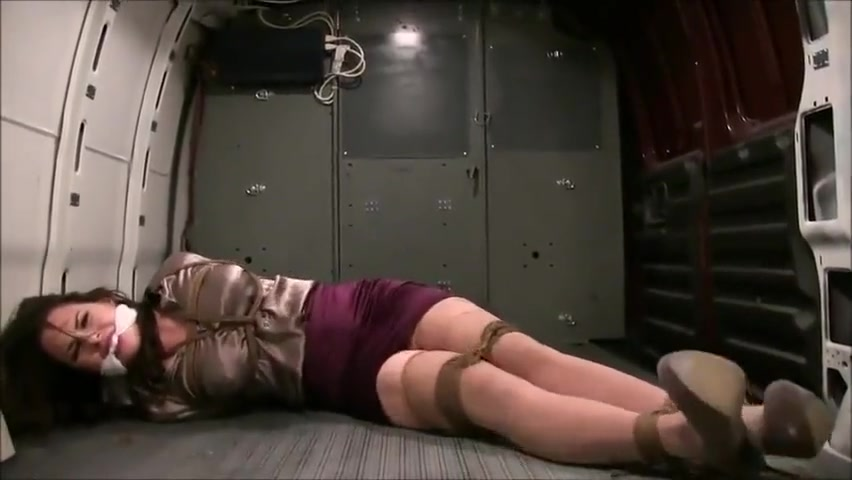 Girl cleave gagged in a van 50 60 classic porn