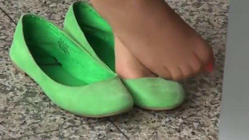 Nylon Stockings Footjob Hd