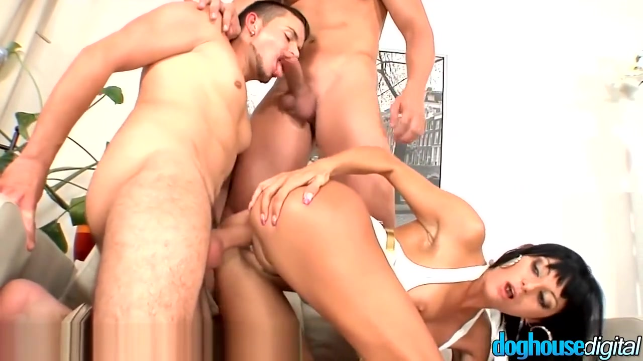 EXCLUSIVE: DogHouse Bi Curious Couple has MMF Threesome lethal lipps porn tubes