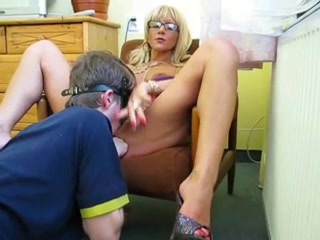 Russian guy lick mistress pussy ball busting footjob stories