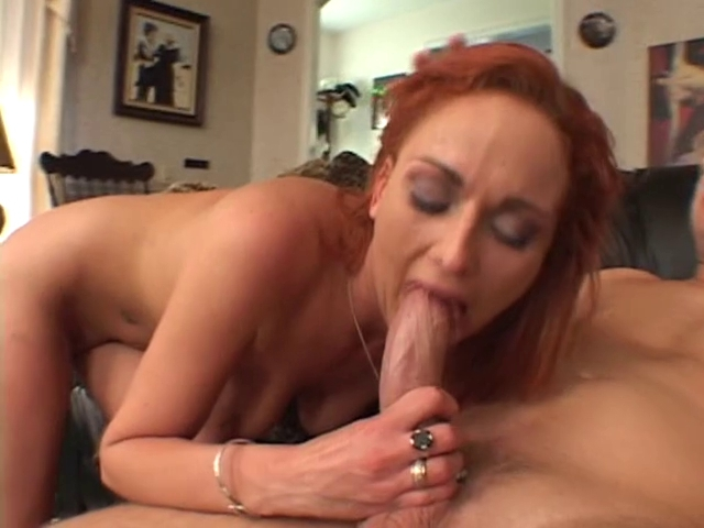 Red-headed bitch gored by white dick in the living room free downloadable video porn