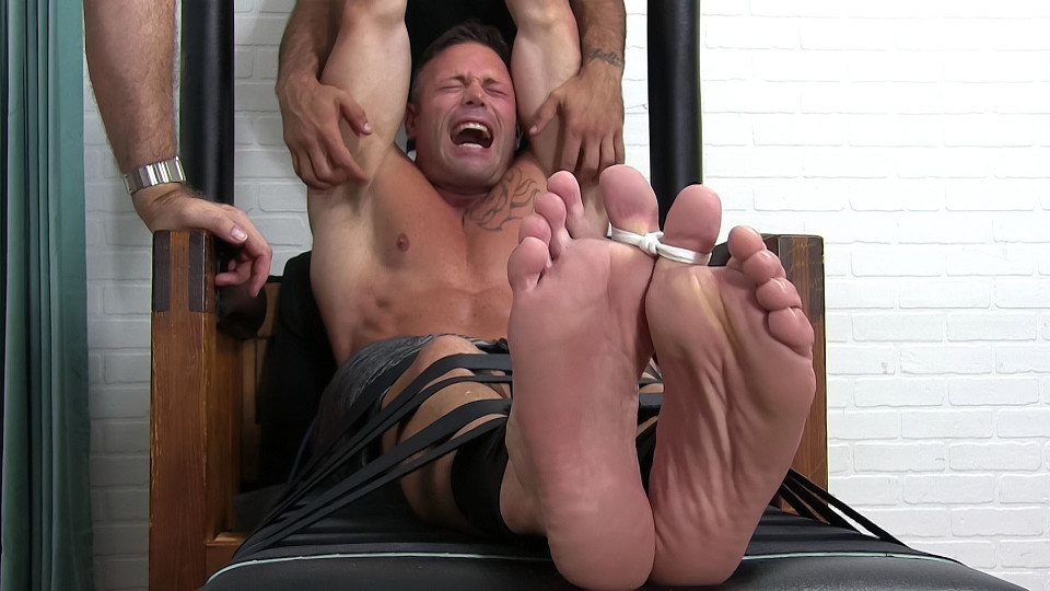 Joey Tightly Bound, Toe-Tied & Tickled - Joey - MyFriendsFeet Ass licked and tit fucking