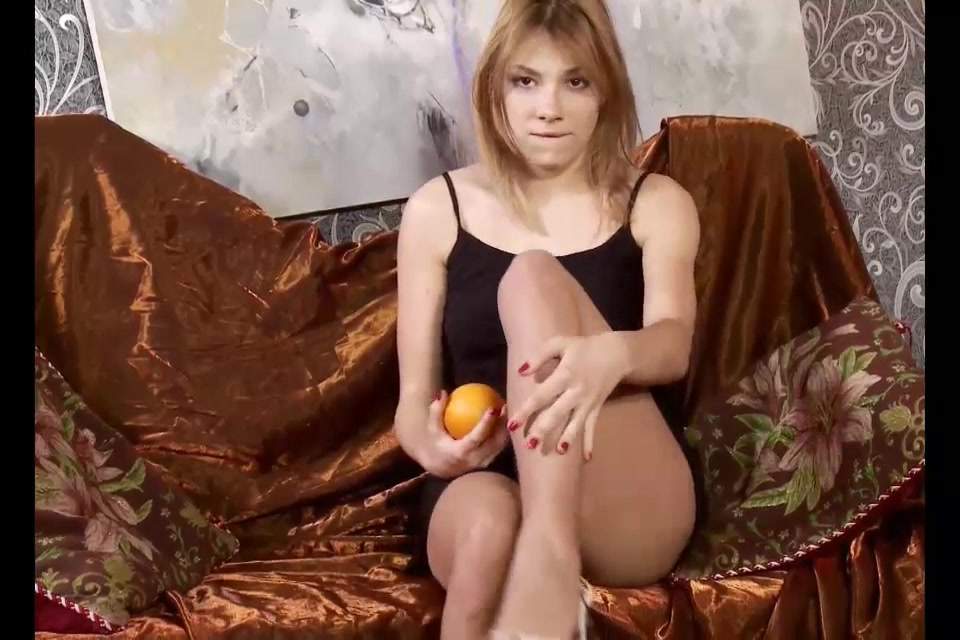 beautiful russian girl rubs an orange on her hairy pussy pictures girl u.s.a sex 18