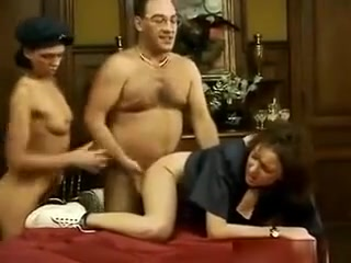 Classic Threesome With Some Dirty Girls hot blonde shaking her ass
