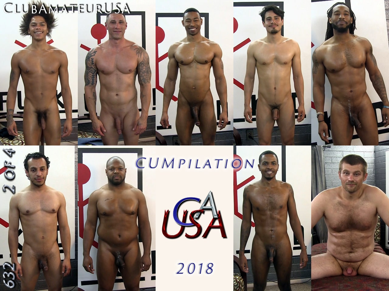 CUMpilation 2018 - 2 of 4 - ClubAmateurUSA Country flag icons