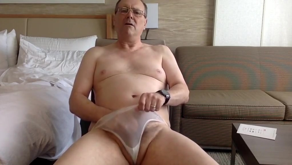 Slipping off my white panties Round Ass Gets Fucked