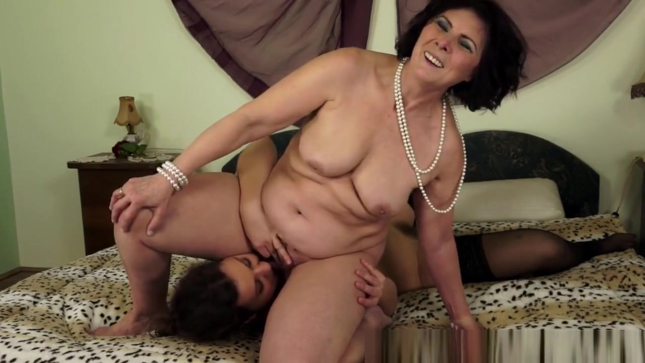 Mature Lesbo Rimmed By A Pretty Young Maid bigbig women bbw porn