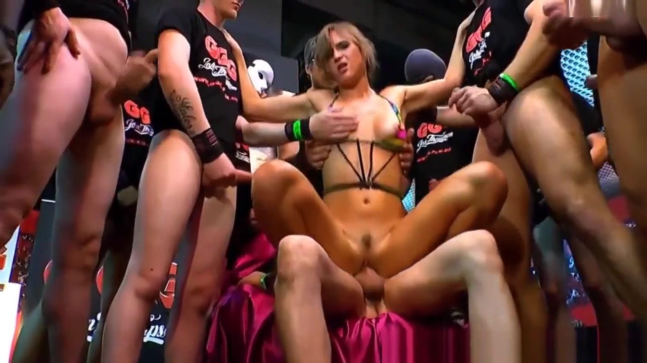 Jizzy German Gang Banged Robi domingo dating new girl