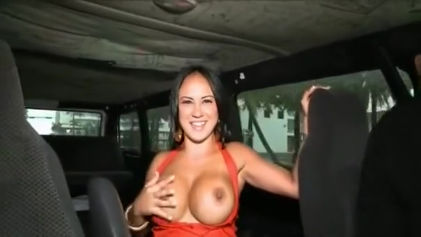 Babe Is Ready For Anything When That Babe Gets On A Bang Bus Bdsm femdom outdoor