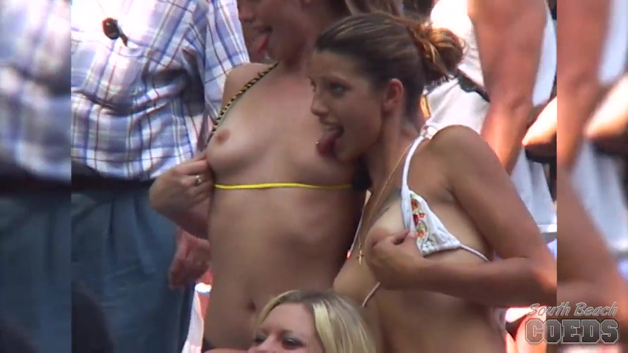 Amateur Contest at Nudes a Poppin - SouthBeachCoeds Jennifer toastee toof ass