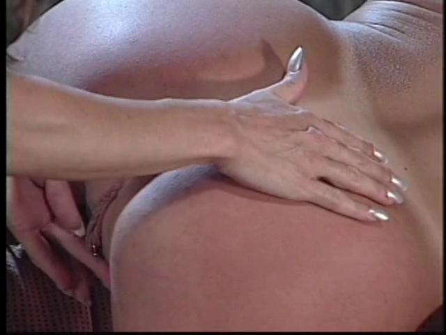 Bending her lesbo girlfriend over for fingering enjoyment Lesbian strip tease
