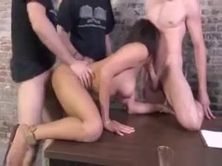 Cherry Hilson Loves White Cock Gangbang