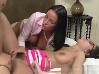 A Happy Stepfamily Always Shares A Big Cock