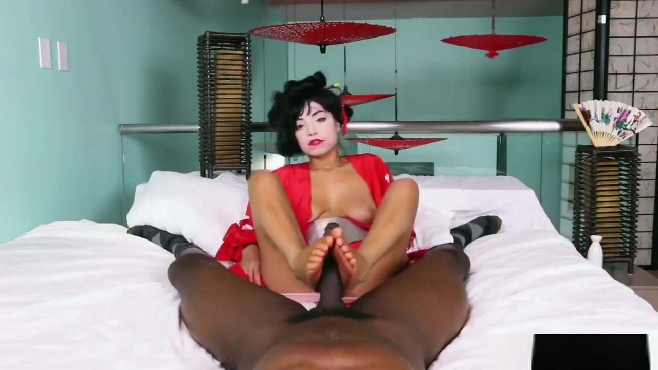 Ebony Riding Dick The Couch