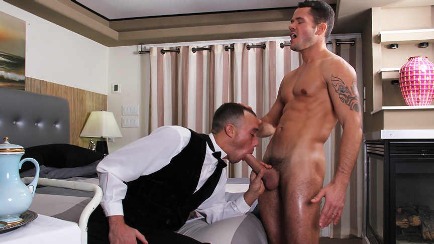 Kirk Cummings & Valentin Petrov in Working For That Tip Scene Desi porns sex special