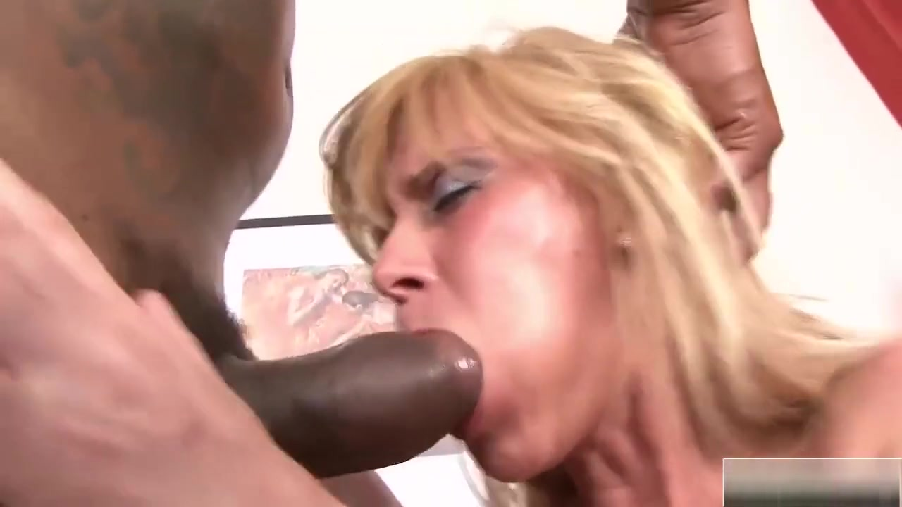 Hot Milf In Fishnets Gets Blacked Hard moms pussy while sleeping