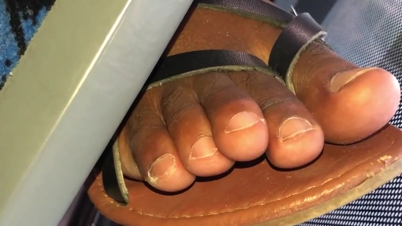 Haitian ebony toes closeup Suck the cream from my pussy