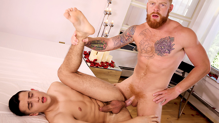 Bennett Anthony & Jacob Ladder in Surprise Gift Scene Really fat girl cunt