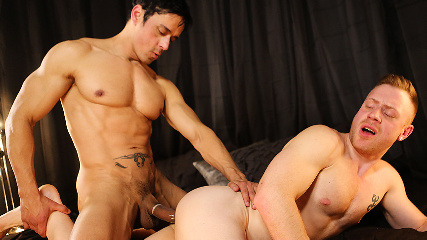 Rafael Alencar & Saxon West in The Black Room Scene Outdoor nudist nude beach girls