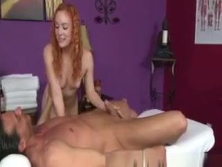 Ginger Masseuse Rubs Customers Cock Bbw fucked pics