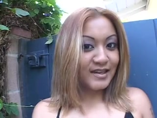 Test-riding a horny blond Oriental pro Fisting girl hardest
