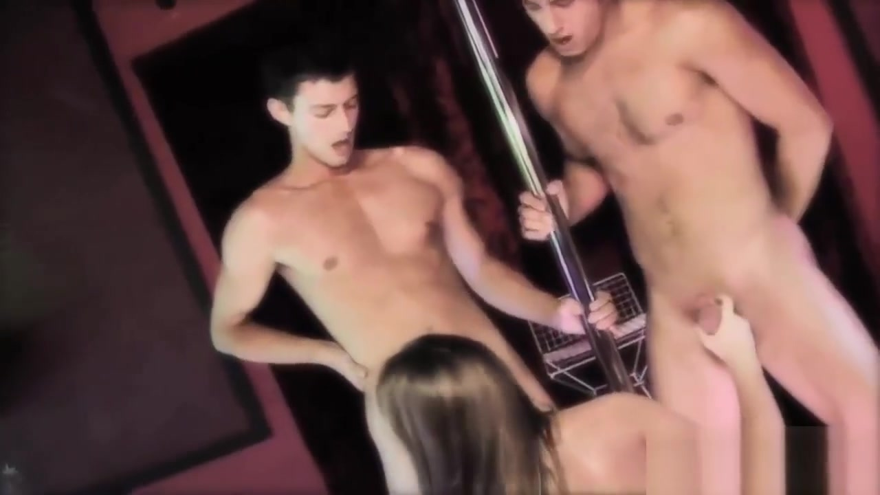Hot Threesome Action Starring Sexy Gabriela Glazer i want to fuck this guy
