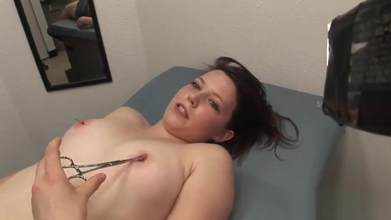 Horny Brunette Gets Her Nipples Pierced Woman who suck cock in Parnu