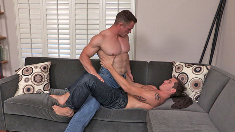 Sean Cody Video: Paul & Derek Owtkast milf cumming on big dildo
