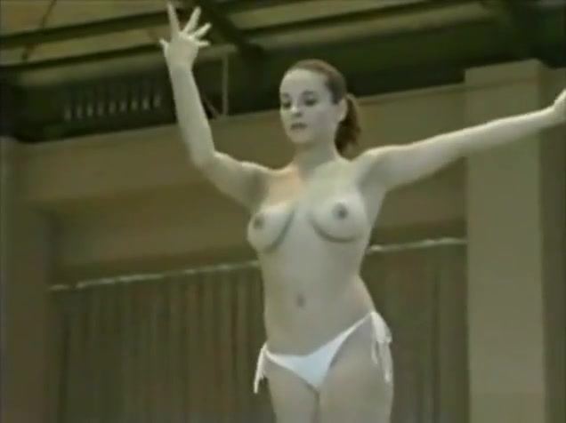 Topless Romanian Olympic Gymnasts - Part 3 White