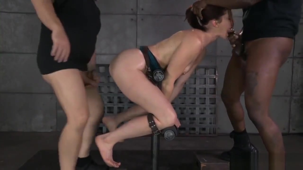 Tall babe gets tied up and anally pounded Teen sex addicts video