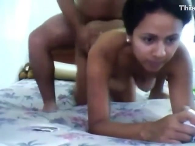 Indian Bf Fucked Gf doggy style fuck on the bed