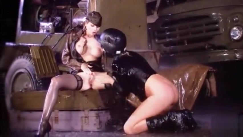 Military Chicks Dont Let Rain Stop Tongue blowjob
