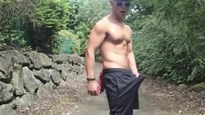 outdoor muscle Interracial iphone porn