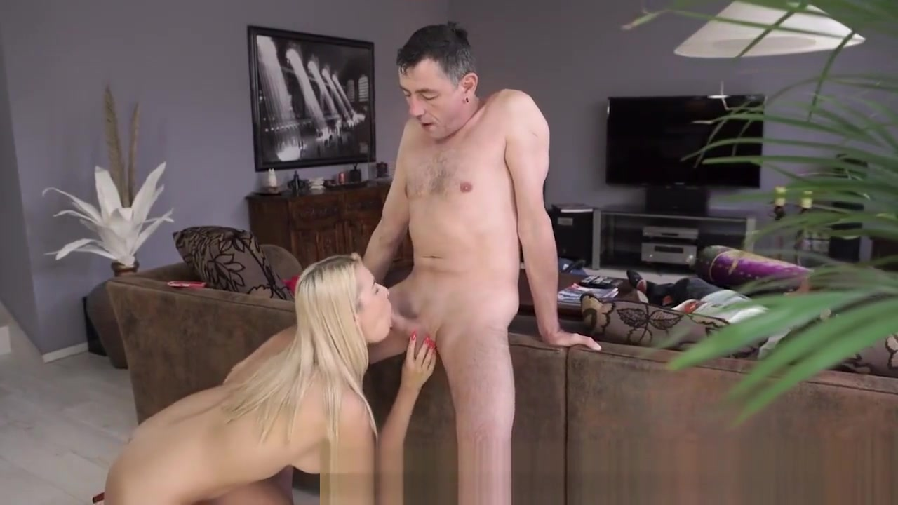 DADDY4K. Skillful dad shares sexual experience with sons slutty GF