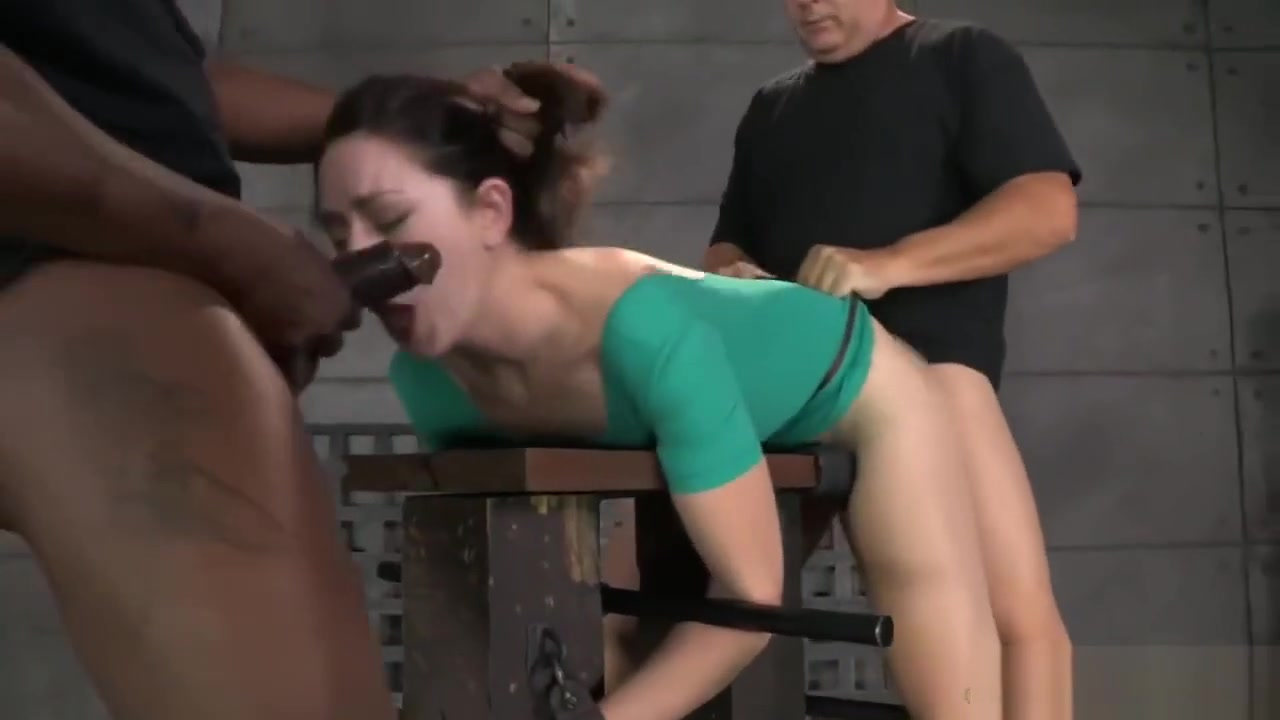 Beautiful star gets tied up and pounded