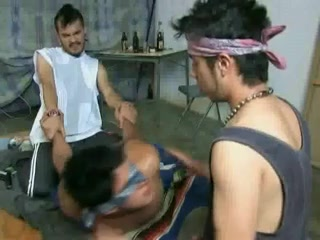 Tied twink gay gets screwed by two other gentlemen best shemales are from