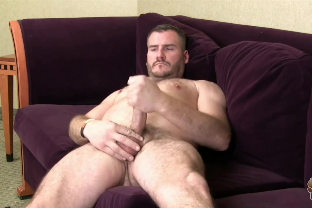 Horny gay hunk masturbates on an interview Extreme Hentai Porn Videos