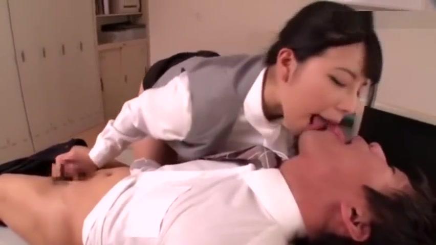 Deep Kiss Slave Ai Uehara cutest girls in porn