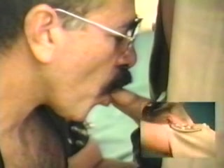 Leather Dad and young CHP Cop Karla lane footjob