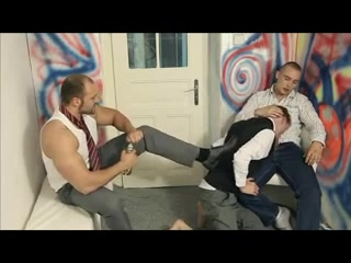 Hot Twink Getting Fucked Hard From 2 Guys Meet men for men on men sex